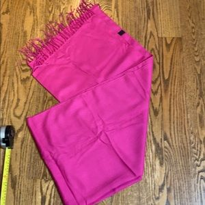 New Barbie pink cashmere Pashmina